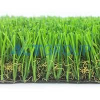 Durable Surface Dog Proof Artificial Grass  , Sports Field Football Synthetic Fake Grass