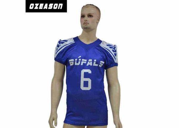 Quality Wholesale American Football Practice Jerseys Sublimated College American Football Jerseys for sale