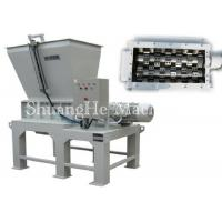 Mobile Small Scrap Metal Crusher With Motor Drive , Solid Waste Shredder