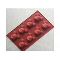 China Food Safety, Mickey Mouse , Multi-Cavities , Silicone Chocolate Mold wholesale