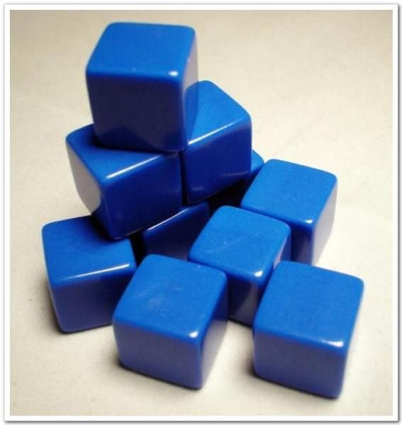 18mm Colored Dice Kids Toy