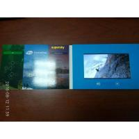China Popular LCD VIDEO Birthday Cards  /  Lcd Video Brochure Template For Greeting , Celebration wholesale
