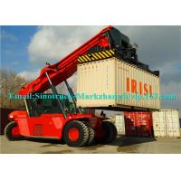 China 265kW Engine Shipping Container Lifting Equipment Sany Heli Kalmer Reachstacker SRSC45C31 on sale