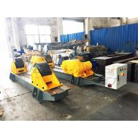China 120 Ton Pressure Vessel Tank Turning Rolls Conventional Bolt Adjustable Steel Rollers wholesale