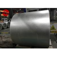 China Flat 0.12 - 4.0MM Dx51D Z275 Galvanized Steel Roll For Building Materials on sale