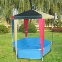 China 1.1 x 1.1 x 1.1m PE Roof Hexagonal Children's Gazebo wholesale