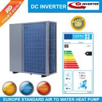 China R410A  efficient air to water heat pump DC inverter heat pump for cooling heating or DHW wholesale