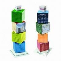 China Promotional Building Blocks Calendars, Customized Colors are Accepted wholesale