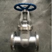 China Z41W-25P GB Metal Gate Valve ,  Flange Gate  3 Inch Stainless Steel Gate Valve wholesale