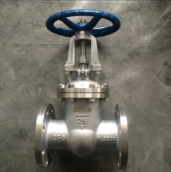 Quality Z41W-25P GB Metal Gate Valve ,  Flange Gate  3 Inch Stainless Steel Gate Valve for sale