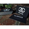China Laser Silver Foil Gilded Edge Business Cards , Black Velvet Business Cards wholesale