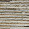 China Thin Marble / Sandstone / Quartzite Stone Veneer White and Yellow Color wholesale