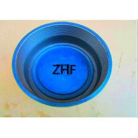 China Blue Cast Iron Floor Drain  Heavy Duty Couplings Assembled With Plastic Plug wholesale