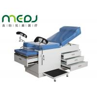 China Hospital Use Medical Gynecological Examination Couch Table With Drawers wholesale