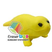 China Animal shaped erasers SEA019 seal shaped animal TPR school eraser wholesale