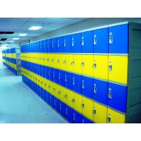 China Colorful Employee Storage Lockers 4 Tier smart ABS Lockers for school or gym wholesale