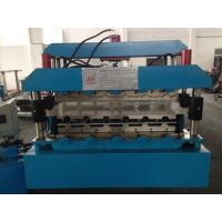 China 7.5KW Roof Panel Roll Forming Machine With Guide Pillar high Productivity wholesale