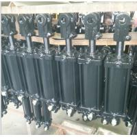China Farm use 2500 PSI Chrome plated rod honed tube tie rod hydraulic cylinder with pins wholesale