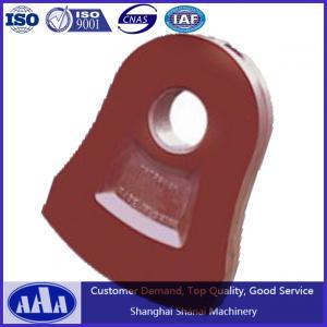 China high manganese crusher hammer hammer head hammer plate wholesale