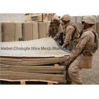 Customized Military HESCO Defensive Barriers , High Tensile Strength Hesco Bastion Concertainer