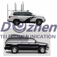 China Vehicle Jammer 8 Bands Full Frequency All Signal Jammer , 433-2500MHz Phone Signal Blocker on sale