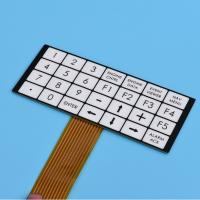 Buy cheap Flexible Embossed Pcb Membrane Switch Fpc With 2.54mm Female Connector from wholesalers