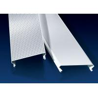 China C Shaped Linear Metal Strip Ceiling  , False Perforated Aluminium Strip wholesale