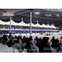 China 2.6m Height Water Resistant Sport Event Tents / High Peak Frame Tent wholesale