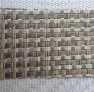 China PVC Wicker Weaves - Cane Wicker Aluminum Fabric on sale