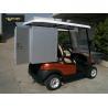 China Carrinhos de golfe bondes de Seater do carrinho 2 do golfe com os recipientes de selagem de alumínio da camada 2 wholesale