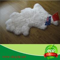 China fashion design hot sale good quality sheepskin rug sheep fur rugs made in China wholesale