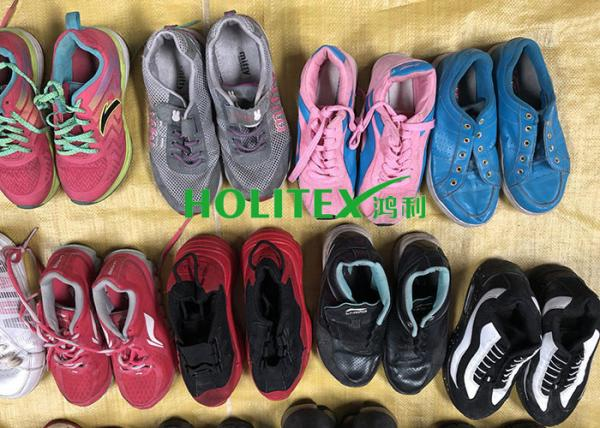 Quality High Grade Used Women'S Shoes / Fashionable Used Sports Shoes For All Seasons for sale
