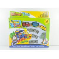 China Mini Wind Up Classic Train Set Kids Toy Vehicles with Railway Track 8 Pcs wholesale