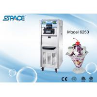 China 3 Compressors Commercial Soft Serve Frozen Yogurt Machine Two Control Systems wholesale