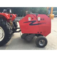 China Agriculture tractor mounted mini round Maize straw baler machine for India market on sale