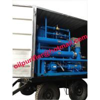 China mobile and outdoor oil filtration machine mounted 4 wheels,Easily-Mobile Trailer Insulating Oil Purifier With Full Cover wholesale