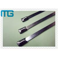 China Nature Color Cable Accessories Self Locking Stainless Steel Cable Ties Free Samples wholesale