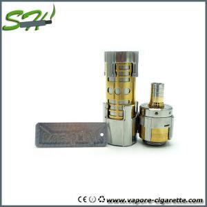 China Stainless Steel Vapor 26650 Mechanical Mod , 510 Thread Dreadnaut Mod wholesale