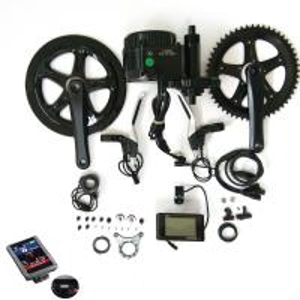 China Bafang bbs 01 center crank mid drive motor 36v 250w electric bike conversion kit on sale