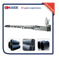 China Plastic Pipe Extrusion Line for Large Diameter HDPE Pipe KAIDE factory wholesale