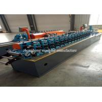 Metal Window Section Roll Forming Machine With Servo Motor None Stop Cutting