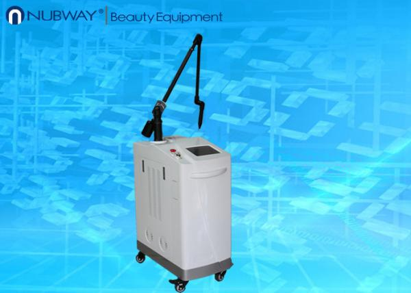 Quality Pulsed Q Switched ND Yag Laser 220v With Lcd Screen For Pigmented Lesion for sale