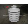 China HIVOLT 36kV White Porcelain Insulators , High Voltage Porcelain Insulators wholesale