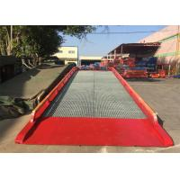 "China 32#  "" H "" Beam Mobile Container Dock Ramp With Adjust Range 1200 ~ 1700mm wholesale"
