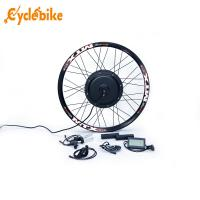 China Waterproof Electric Bike Kit Motorized Bicycle Rear Wheel With Lcd Display on sale
