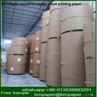China multi-purpose offset paper white offset paper wood free paper wholesale