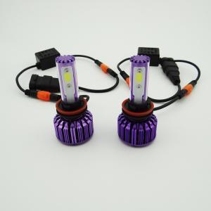 Buy cheap H1 / Bulbos 30 W 3000k de la linterna de H3/de H7/de H8/de H9/de H11 LED con el microprocesador de la MAZORCA from wholesalers