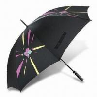 China London 2012 Golf Umbrella with Fiberglass Frame, Made of Recycled Polyester wholesale