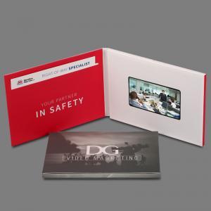 Buy cheap Folheto video feito sob encomenda do Lcd dos cartões com tela video, 4,3