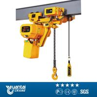 China YT Lifting machine electric chain hoist 3ton 5ton 10ton with motor trolley wholesale